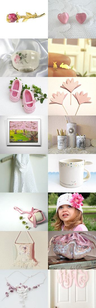 Friday in pink by Bibe Jewelry on Etsy--Pinned with TreasuryPin.com