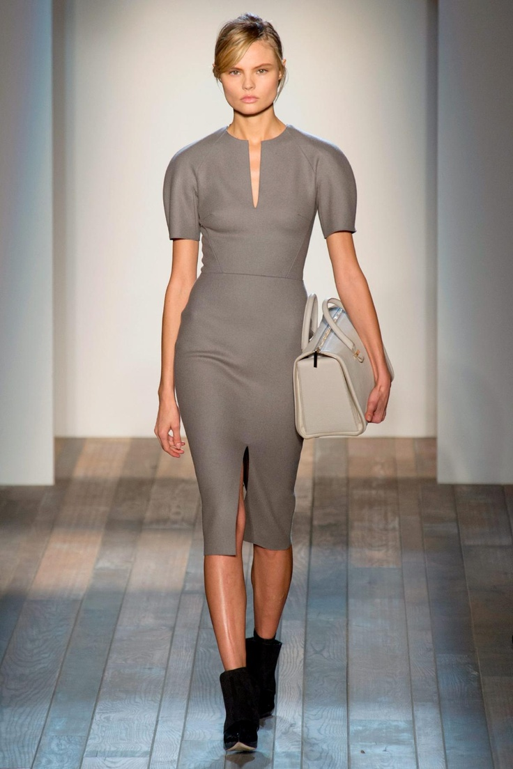 Victoria Beckham Fall 2013 RTW Collection - Fashion on TheCut - needs a belt, but cute