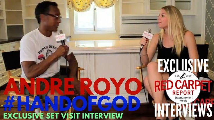 "Andre Royo interviewed at ""Hand of God"" S2 Set Visit Watch Series on 3/10 RCRs @KeetinMarchi talks to @AndreRoyo about S2 of @HandofGodAmazon during set visit #@WeAskMore"