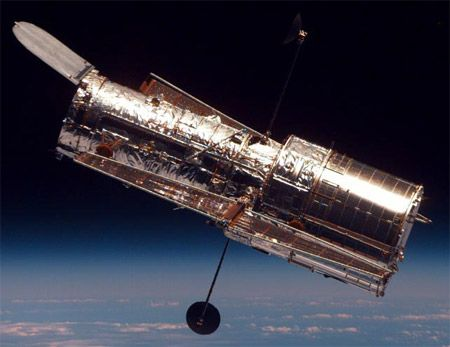 Hubble Space Telescope- should check out the APOD, releases many Hubble photos.