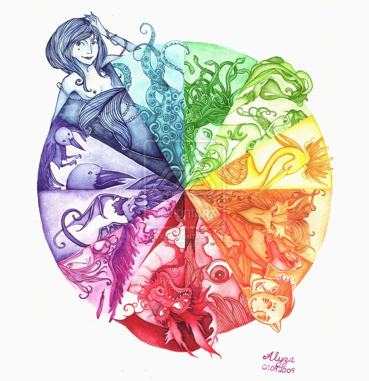56 Best Ideas About Creative Color Wheels On Pinterest