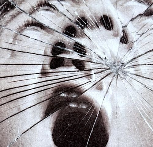 Image result for cracked glass wall on the street