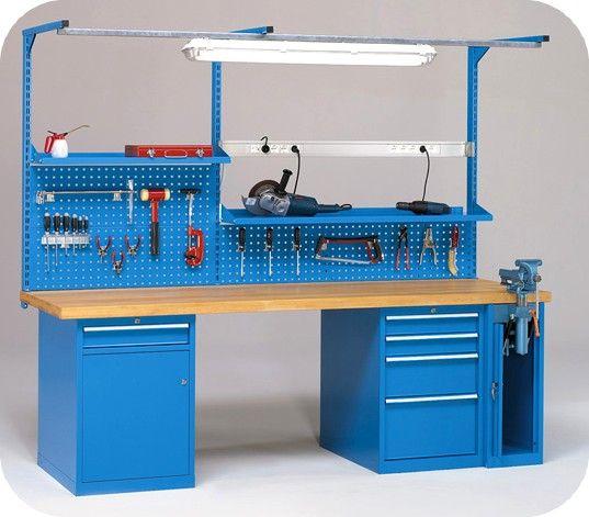 posto di lavoro con blocchi cassettiera e fondali forati e illuminazione ATFBKA584S1.jpg (537×471)