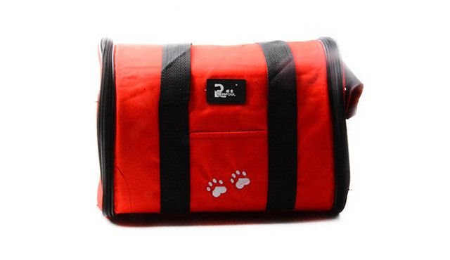Comfort Carrier Soft-Sided Pet Travel Carrier Petmate Kennel Cat Dog Carrier S/L Red colors for small dog PA03