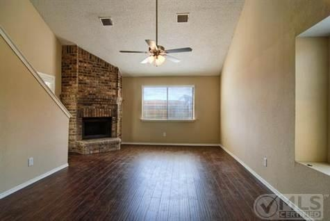 Tan Walls And Wood Floors Living Room Dream Home