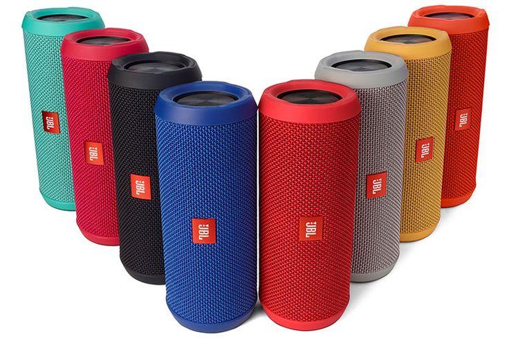 JBL FLIP3 スプラッシュプルーフ対応Bluetoothスピーカー 全8色 ブラック、レッド、オレンジ、ピンク、グレー、ブルー、イエロー、ティール(緑がかかったライトブルー)