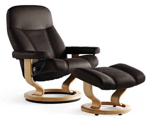 Leather Recliner Chairs | Scandinavian Comfort Chairs | Recliners  sc 1 st  Pinterest & 25+ melhores ideias de Scandinavian recliner chairs no Pinterest ... islam-shia.org