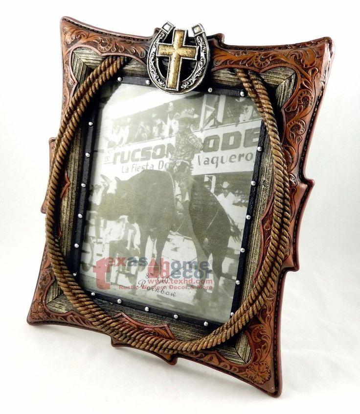 Western Decor Frames: 30 Best Western Rustic Picture Frames Images On Pinterest