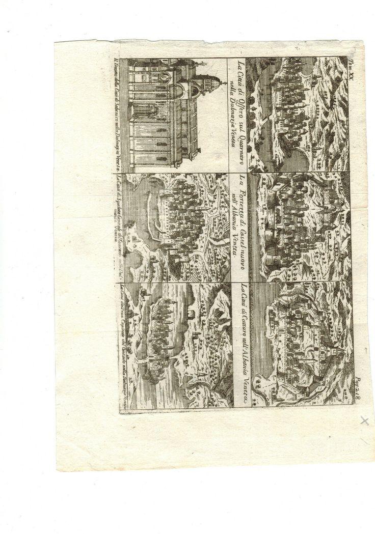 SALMON , NAPOLI 1760 4 VEDUTE DEL VENETO -STAMPA IN ACQUAFORTE   eBay