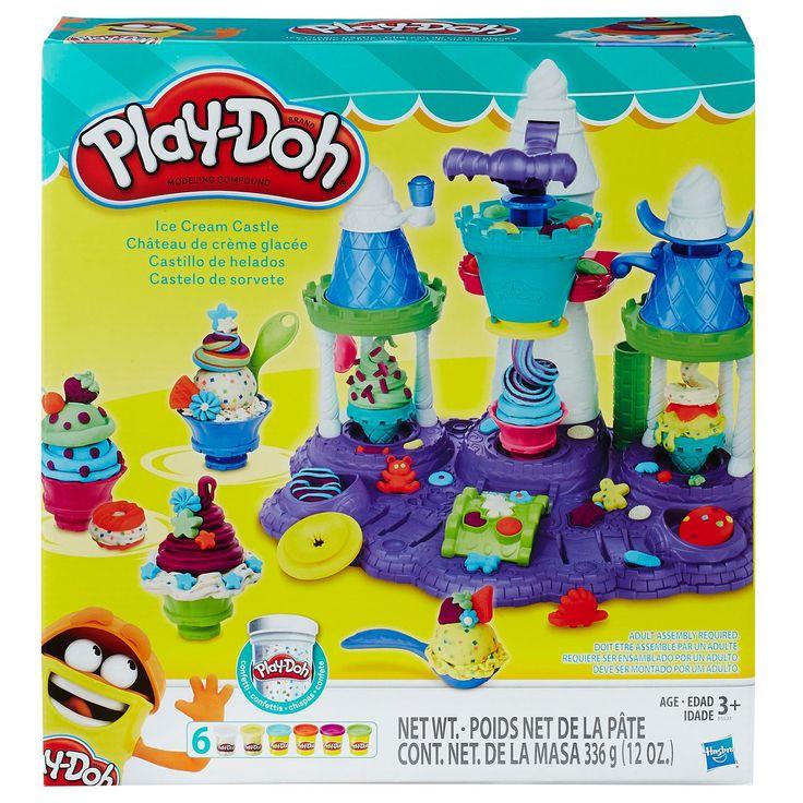 Play-Doh Ice Cream Castle, Dough - Amazon Canada