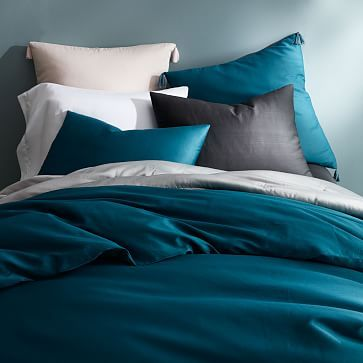 TENCEL® Duvet Cover + Shams #westelm