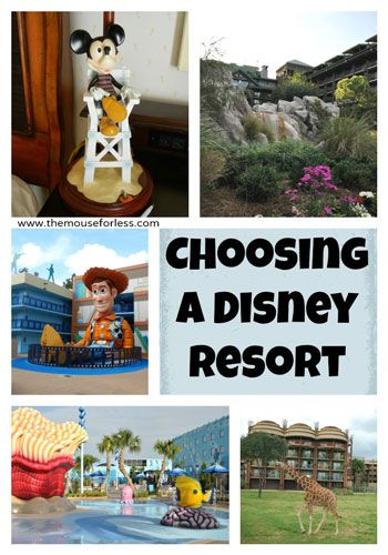 Tips for Choosing a Walt Disney World Resort