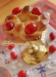 Tsoureki (Greek Easter Bread) | DianasDesserts.com...also makes fabulous French Toast!