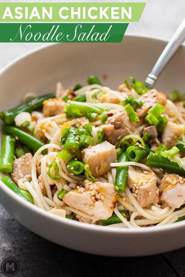 Asian Chicken Noodle Salad Recipe Macheesmo Recipe Asian Chicken Noodle Salad Recipe Asian Chicken Salad Recipes