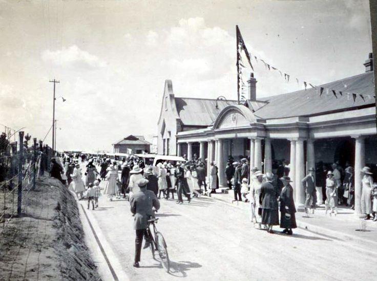 Opening of Benoni Railway Station 1922