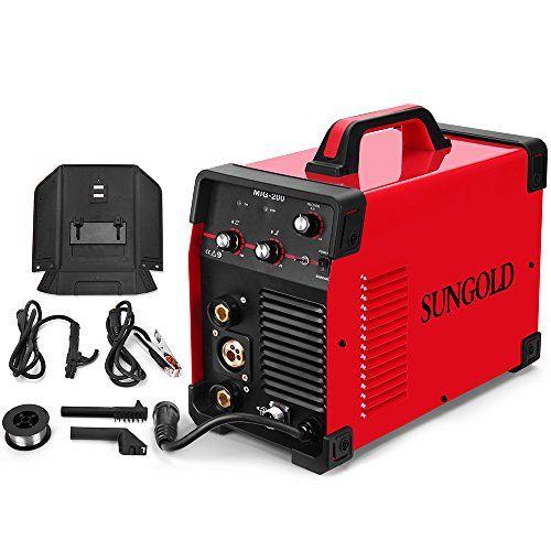 Sungoldpower 200 Amp Mig Mag Arc Mma Stick Multifunction Dc Welder 110 220v Dual Voltage Igbt Inverter Welding Sold Soldering Machine Welding Welding Equipment