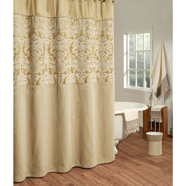 Austin Horn Classics Angelina Shower Curtain 36 Liked On Polyvore Featuring Home Bed Bath