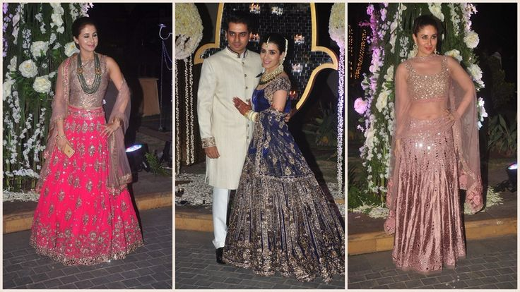Earrings & Necklaces Outshined At Manish Malhotra's Niece's Wedding #Dresses #Imitation # Ethnic # Artificial #Indian #Woman #Jewellery #Buy #Online