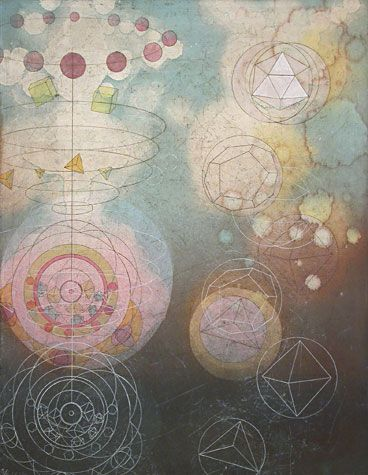 tallmadge doyle kepler's cosmic geometry II, 2003