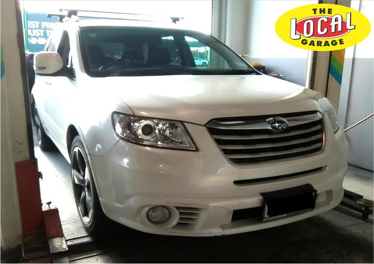 "The #Subaru Tribeca is a mid-size crossover #SUV made from 2005-2014. The name ""Tribeca"" derives from the #Tribeca neighborhood of New York City. #TheLocalGarageAuckland for all of your WOF, car servicing & repairs Phone 4422-441 #WOF"