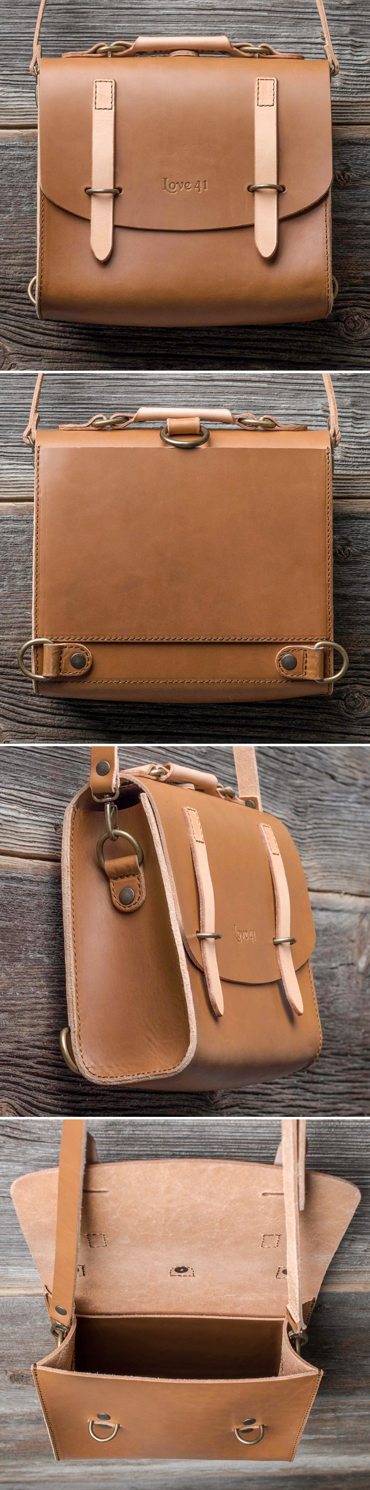 The Satchel Purse | Full Grain Leather | 41 Year Warranty | $209.00