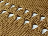 More Elongated Stitches Tutorial For Machine - Single Bed | Machine Knitting Tutorial