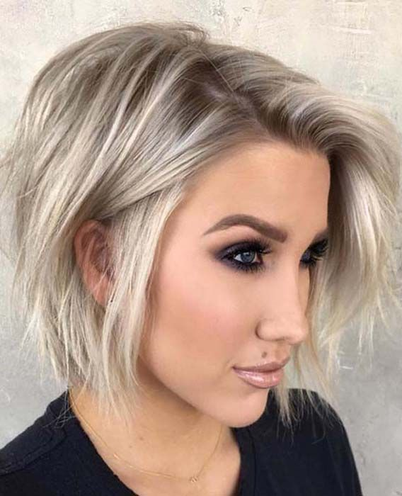 64 Amazing Messy Bob Haircuts For Women 2019 Absurd Styles Bob Hairstyles For Fine Hair Messy Bob Haircut Bobs Haircuts