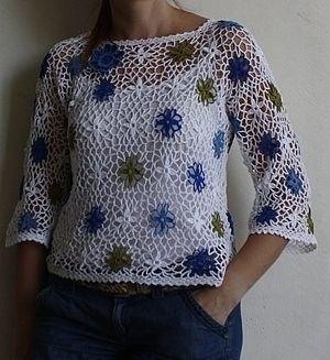 Магазин мастера Лилия Сомок LS: кофты и свитера, топы, футболки, майки, большие размеры