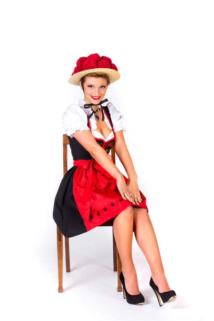 Adorably modern take on the Black Forest tracht | Dirndls ...