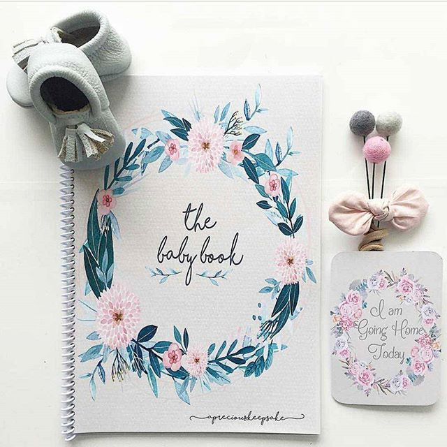 B A C K . I N . S T O C K !!! - The ever so beautiful Wildflower baby book is back in Stock and available on our website now! Why not pair it with these gorgeous floral milestone cards, the perfect gift combination for any precious bubba 💜 📸 @forever3paperie
