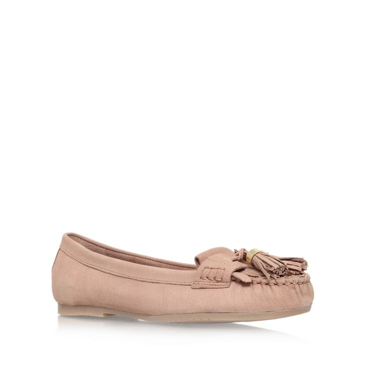 leah nude flat loafer shoes from Carvela Kurt Geiger
