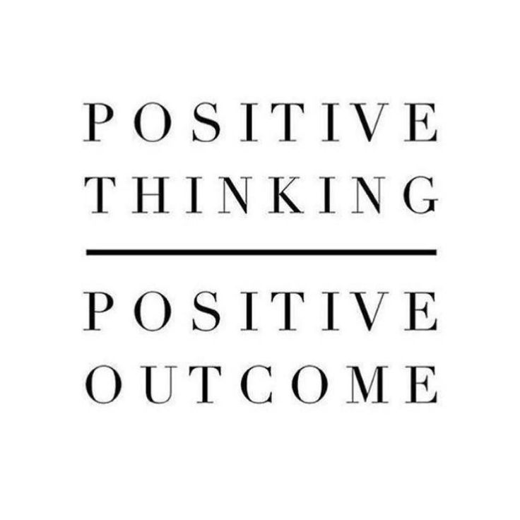 Never underestimate the power of positive thinking #thesocialagency by thesocialagency