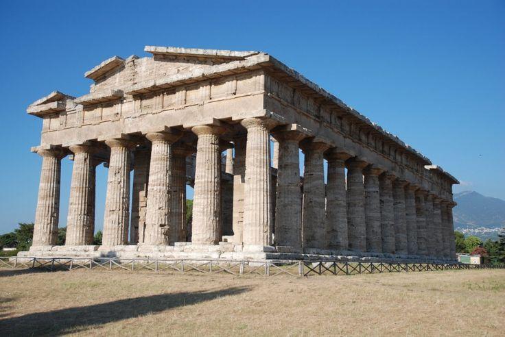 Obra de Arte Comentada. Templo de Poseidón en Paestum