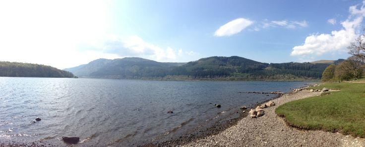 Bassenthwaite Lake in Bassenthwaite Lake, Cumbria