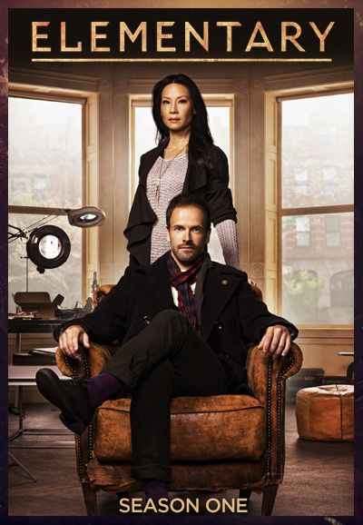 Elementary tv show with Johnny Lee Miller and Lucy Liu