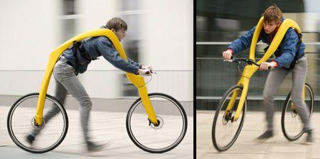 ランナーのための自転車