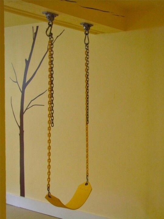 Indoor swing - could be a great add on to the beam in our basement!