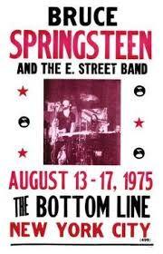 Resultado de imagen de bruce springsteen concert posters
