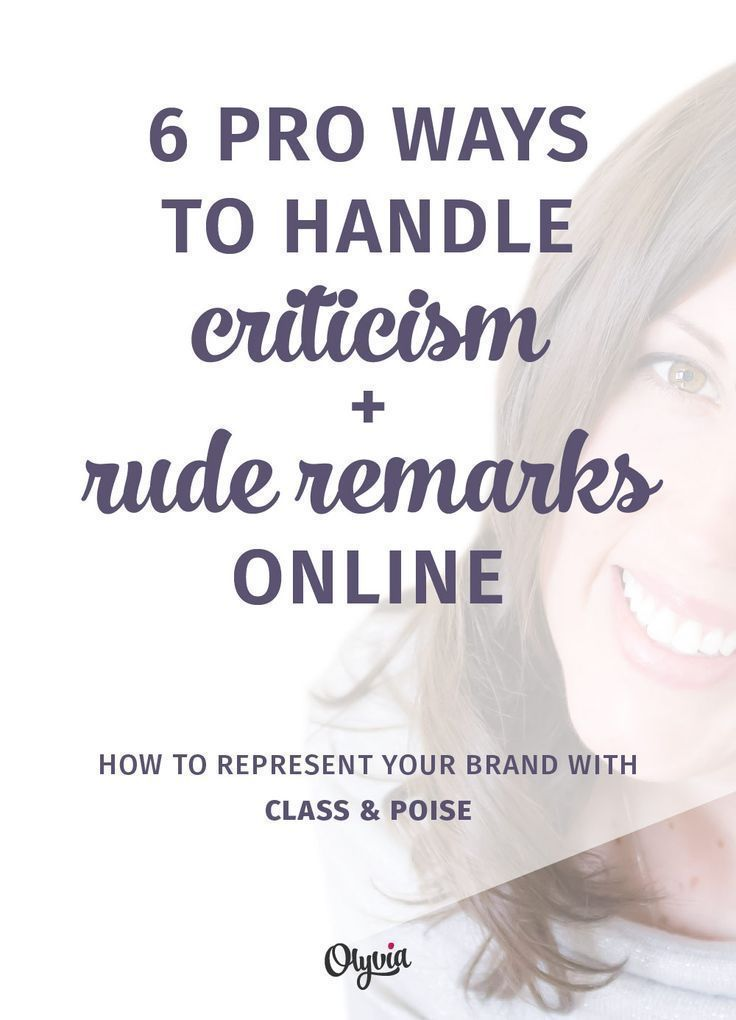 How to handle negative comments online like a true pro. There are great customer service + reputation tips for creative business owners and entrepreneurs in here!