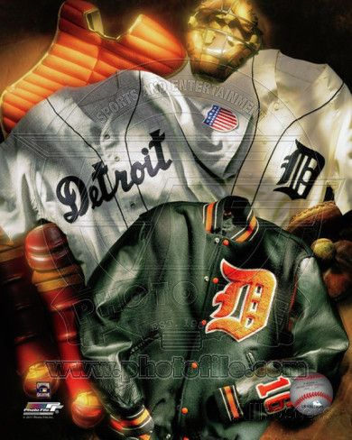Detroit Tigers - Detroit Tigers Cooperstown Collage Photo at AllPosters.com