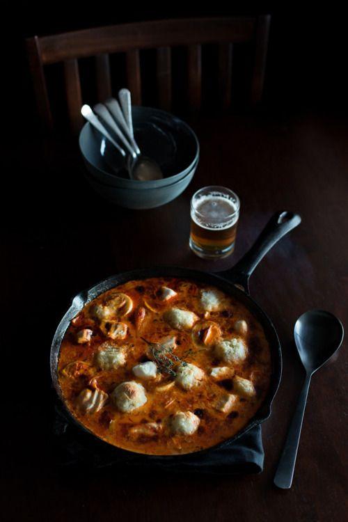 (vía Island Menu | Trevalla & Saffron Soup)