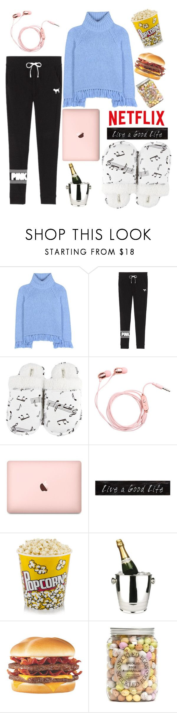 """Untitled #127"" by putrinaini on Polyvore featuring Tory Burch, Victoria's Secret, Leisureland, 3R Studios and Winco"