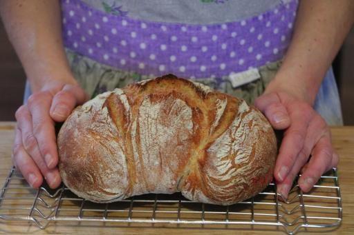 Chléb pečený v hrnci - Italská kuchyně