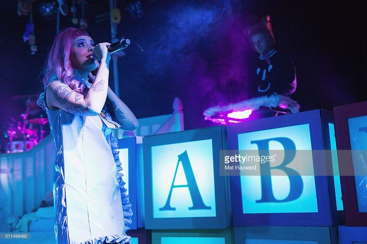 Singer Melanie Martinez performs on stage during the 'Cry Baby' tour at the Showbox on February 20, 2016 in Seattle, Washington.