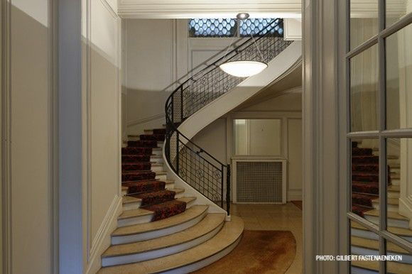 In an apartment at 25b, rue Franklin, Paris, by Auguste Perret
