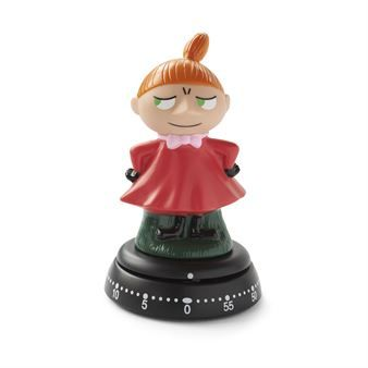 This mechanical timer from Bengt Ek Design is available in different versions: Moomin, Little My and Moominmamma from the Finnish hit series Moomin. Pieces from the original drawings of the author Tove Jansson.