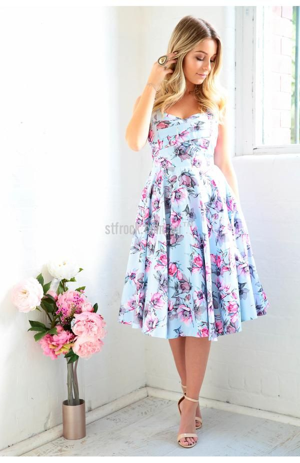PRE ORDER Tea Party Dress in Pink Floral *Delivery date approx NOV