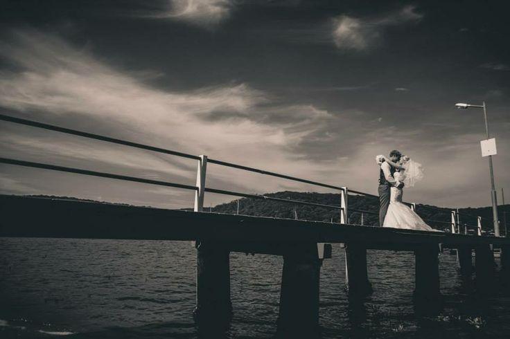 #Wedding #Photography #Dock #Boats #BlackAndWhite