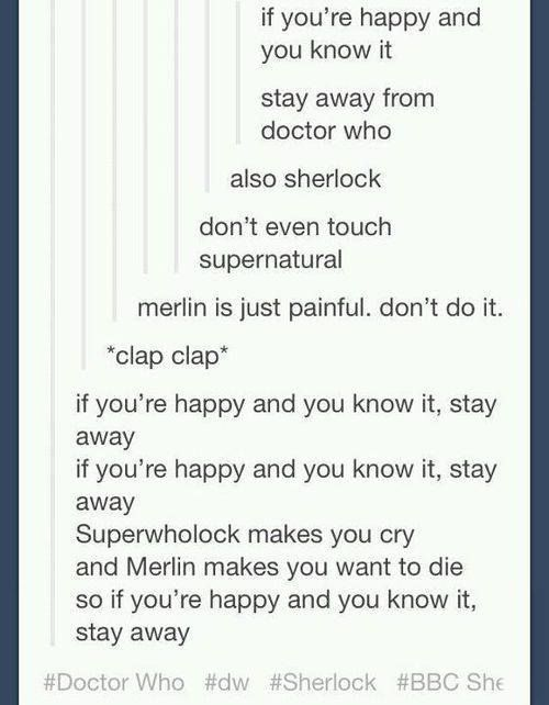 If You Happy don't do fandoms