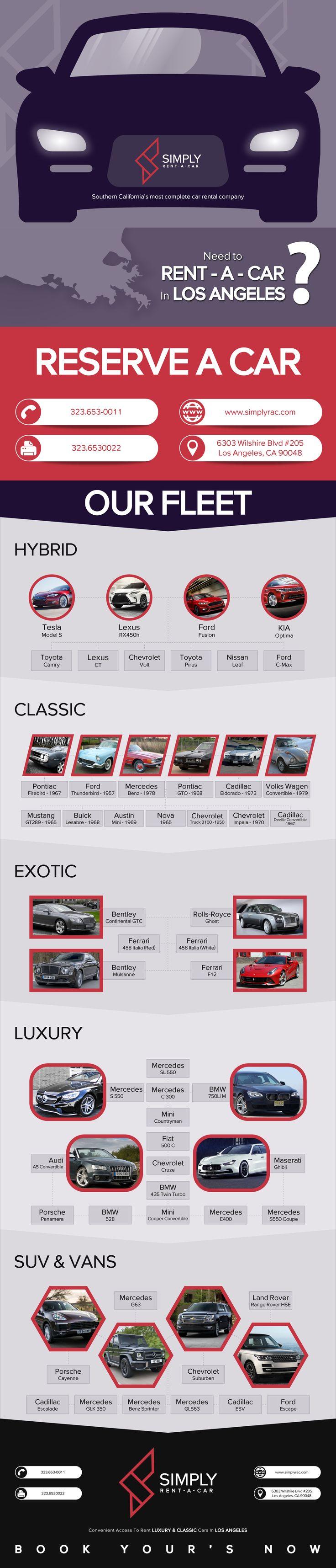 luxury car rental los angeles